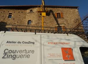Couverture Zinguerie Jaujac