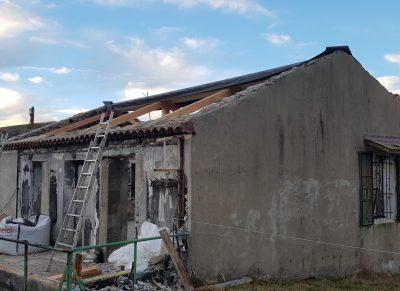 chantier en cours toiture